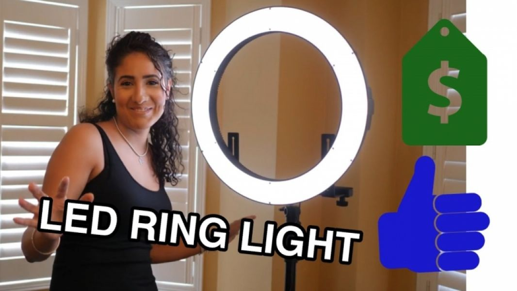 Led Ring Light Somita PLH-480H. Turn on the Light!