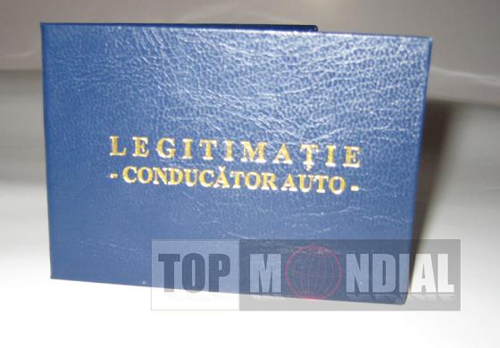 Legitimatii conducator auto agreate ARR