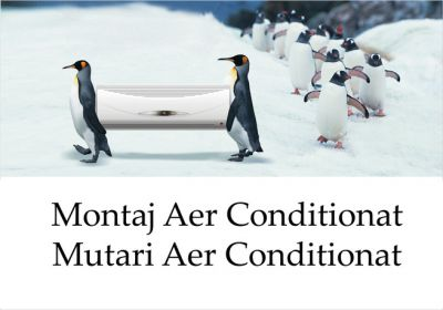 AER CONDITIONAR MONTAJ