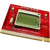 Card diagnoza  calculator D1-4 Newest PCI Debug Card cu display LCD