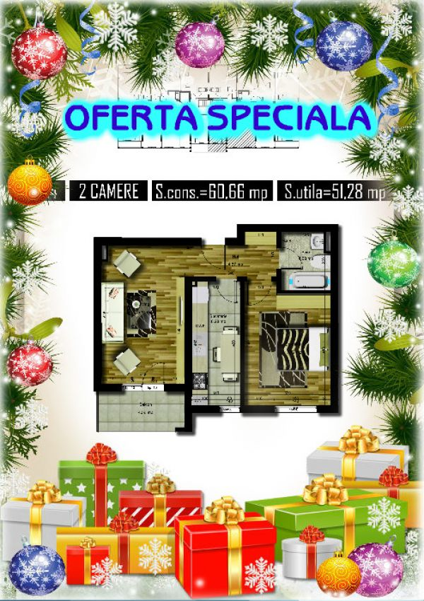 Oferta Apartament Militari Iuliu Maniu, 52 mp, dec
