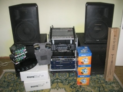 Set scule audio profesionale