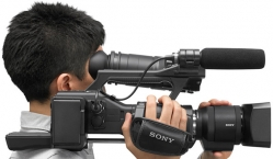Sony NEX-EA50 camera video pro cu senzor DSLR !