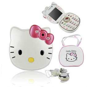 Telefon copii Hello Kitty F198 camera 1.3 mpx Bluetooth fm radio Java ecran 2.2