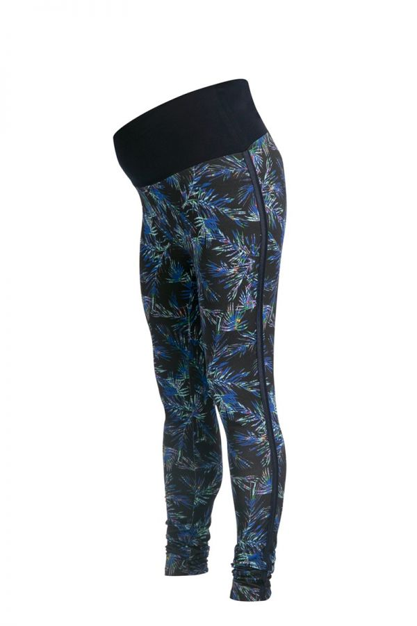 Colanti/leggings gravide cu imprimeu Queen Mum