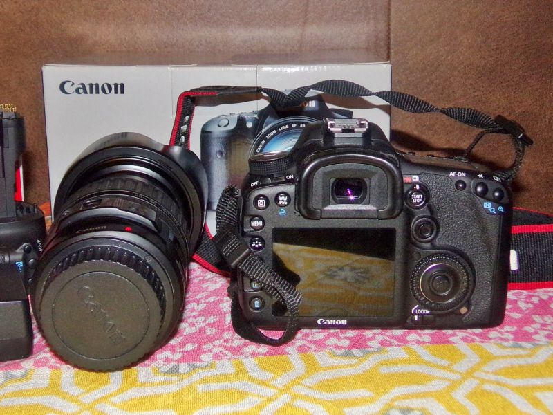Canon EOS 7D Mark II 22.3 MP Digital SLR