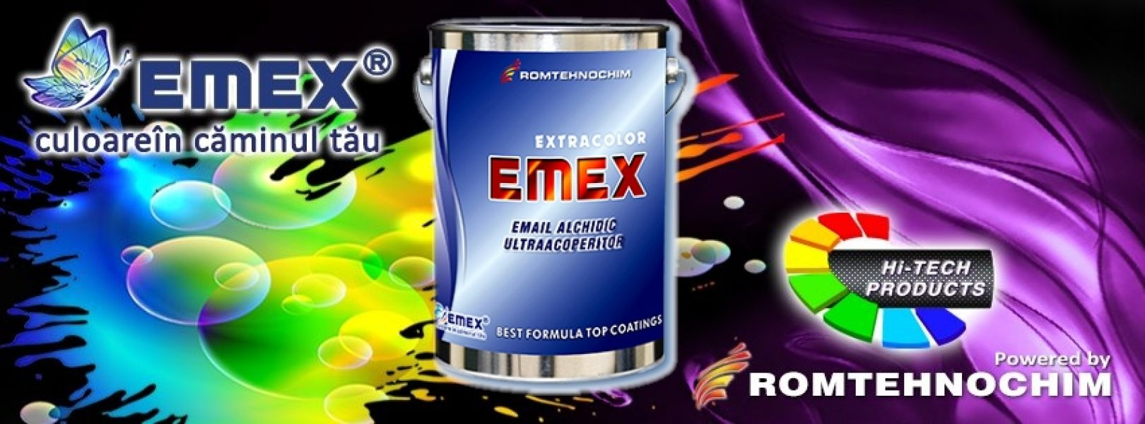 Email Alchidic EMEX EXTRACOLOR - 11,40 Ron/Kg - Gri
