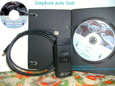 Interfata diagnoza auto Opel Opcom 08.2010