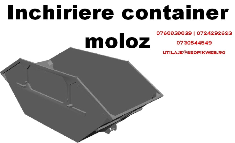 Container moloz | inchiriere container moloz | transport moloz
