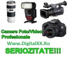 Vand camere video profesionale, Panasonic, 130A, 160A, MDh1, SONY, NX5, Ax2000