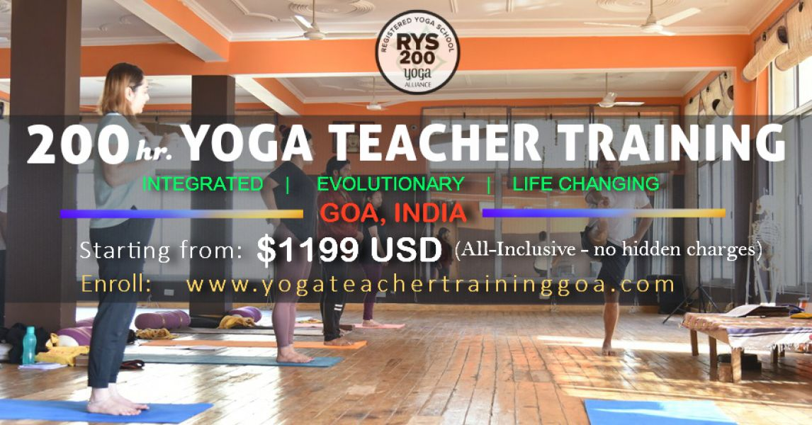 Are you Interested in becoming a Yoga teacher? Join a 100 hr YTTC today
