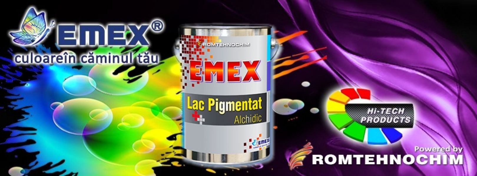 Lac Alchidic Pigmentat Semitransparent EMEX - 15,20 Ron/Kg