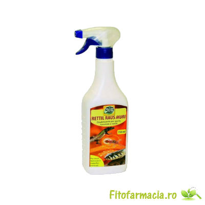 Spray anti reptile