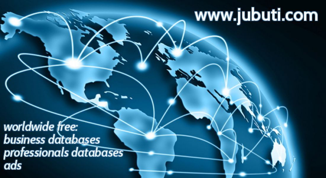 Jubuti - Free Worldwide Business & Professionals Databases