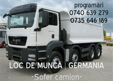 Soferi camion Germania