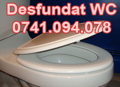 WC infundat ? Instalator