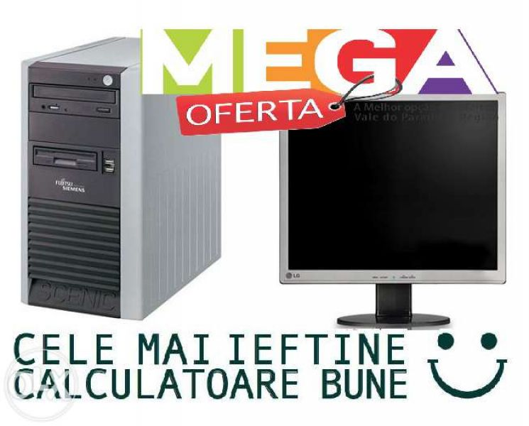 Calculator Pentium 4 3,2 Ghz+Monitor LCD 17 MEGAoferta!