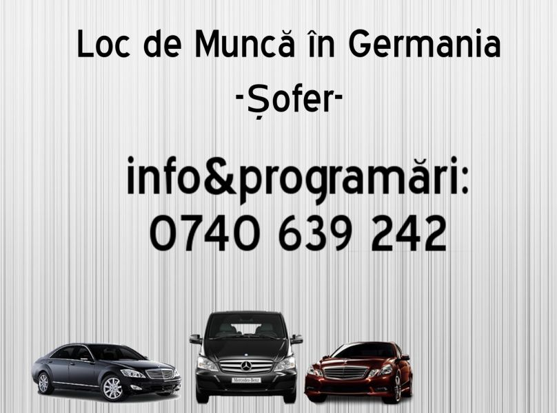 Sofer categoria B, C+E Germania 1400E.