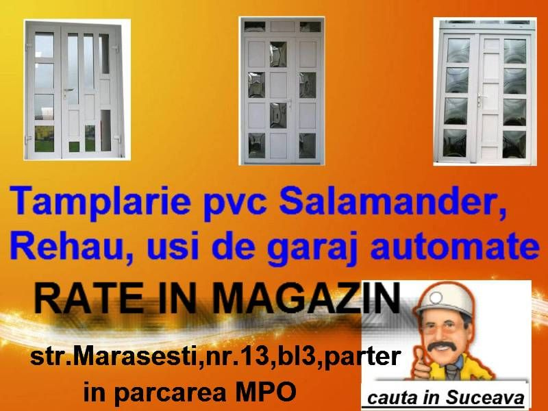 Termopane Suceava-Rate in magazin