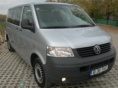 Rent A Car cu Sofer - VW Transporter, Ford Galaxy excursii intern si international
