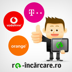 Re-incarca cartela ta Orange, Vodafone sau Telekom AICI