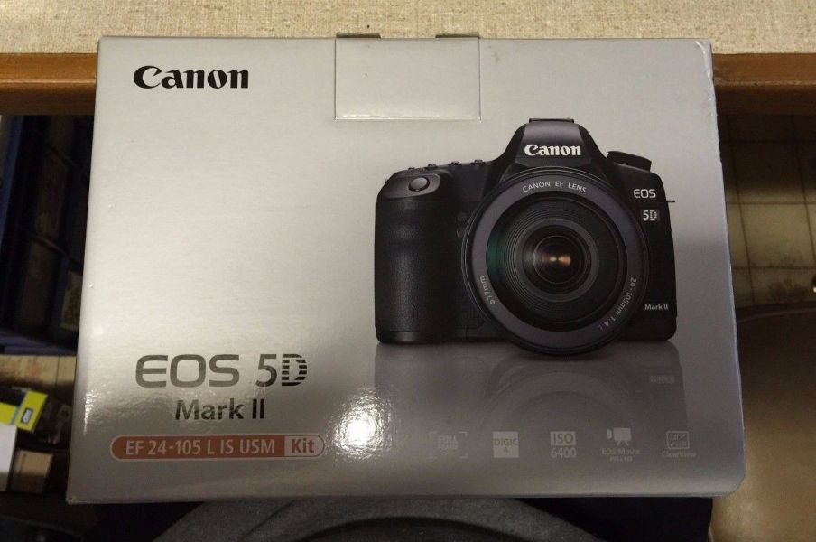 Canon EOS 5D Mark II 22.3 MP Digital SLR