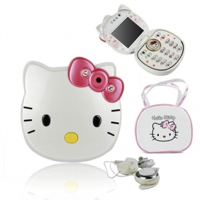 Telefoane Hello Kitty dual sim 1.3mpx Bluetooth Radio Fm