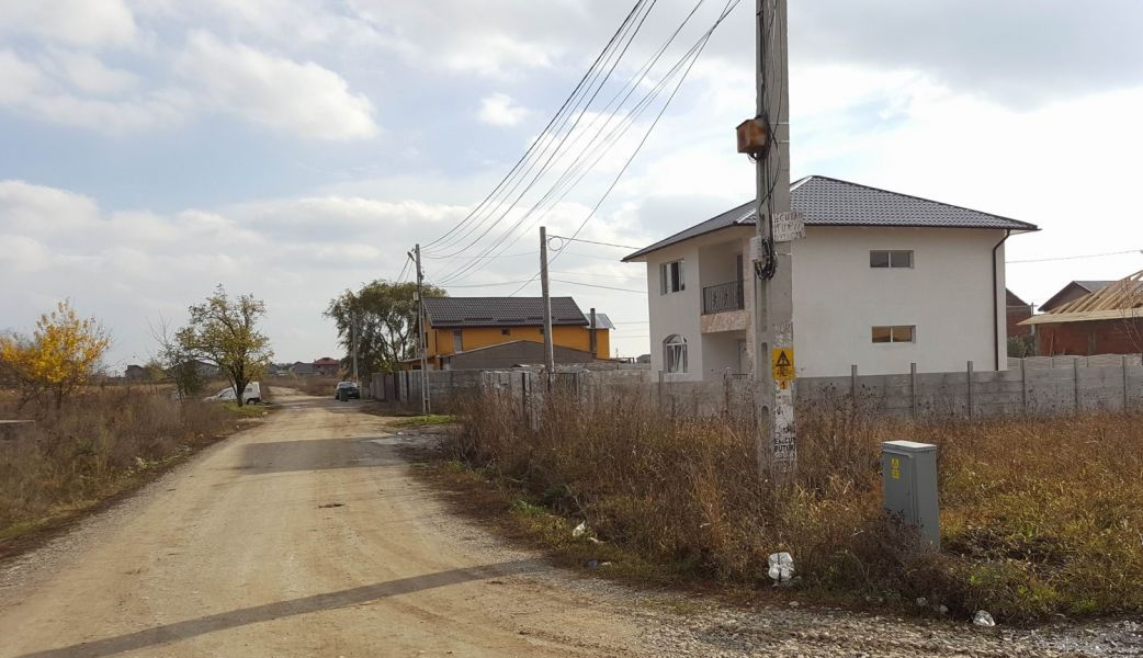 Berceni, zona case noi, lot de casa, intravilan construibil, 468mp - PROPRIETAR